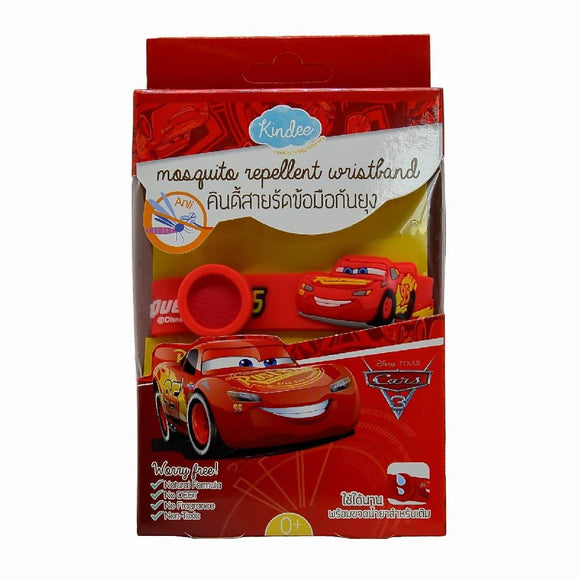 Kindee Mosquito Repellent Wristband 0+ - Cars