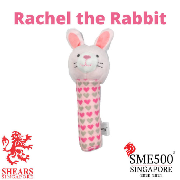 Shears Animal Squeaker Toy Rachel the Rabbit