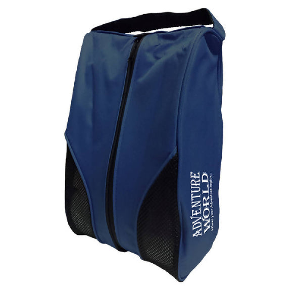 Adventure World Shoe Bag With Compartment (Navy Blue) - WERONE