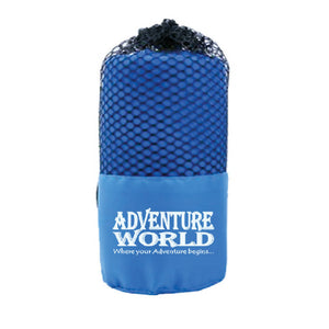 Adventure World Microfibre Bath Towel (Blue) - WERONE