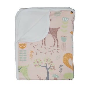 Bebe Bamboo Double Layer Blanket - Woodlands - WERONE