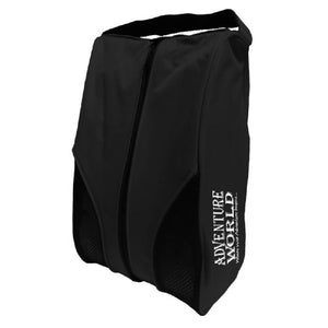 Adventure World Shoe Bag With Compartment (Black) - WERONE