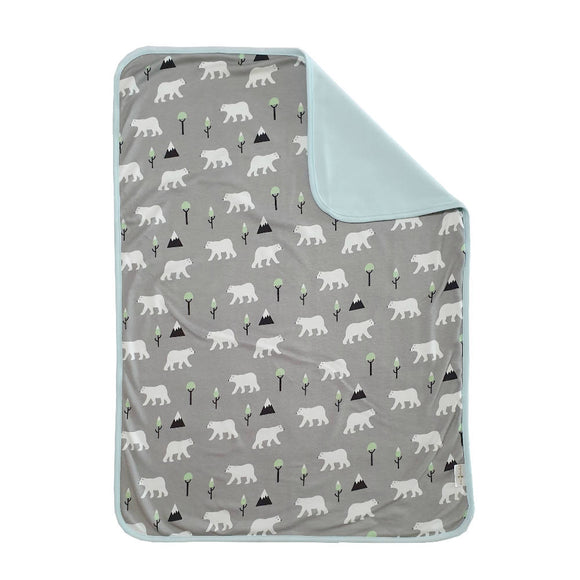 Bebe Bamboo Changing Mat - Polar Bear Grey - WERONE