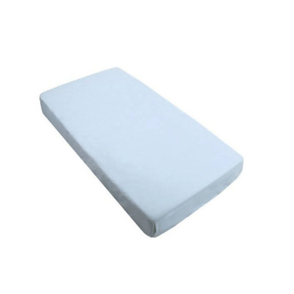 Bebe Bamboo Fitted Sheet - Baby Blue - WERONE