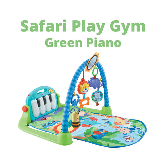 Shears Play Gym Safari Piano Play Gym SPG9690 GREEN