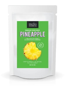 Gracious Goodness Freeze Dried Pineapple - WERONE