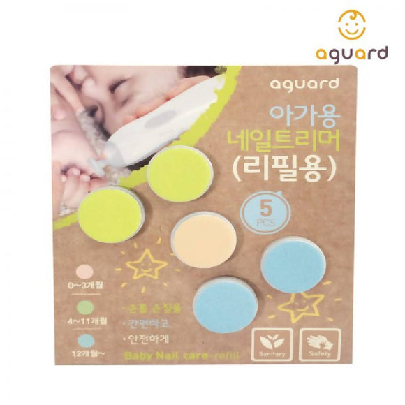 AGUARD Baby Nail Care Device Refill Kit - WERONE
