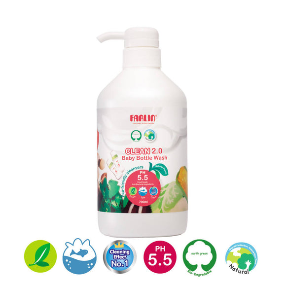 Clean 2.0 Cleansing Detergent - Refill Pack 700ml - WERONE