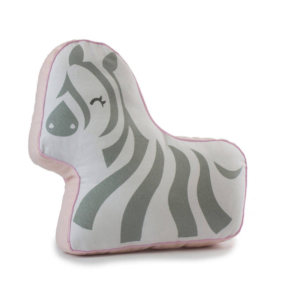 Bubba Blue Zoofari Zebra Novelty Cushion - WERONE