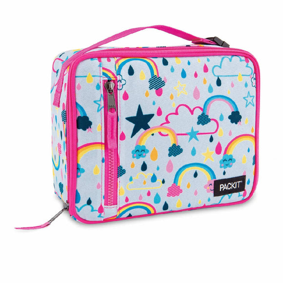 PackIt Freezable Classic Lunch Box Bag, Rainbow Sky (NEW 2020)