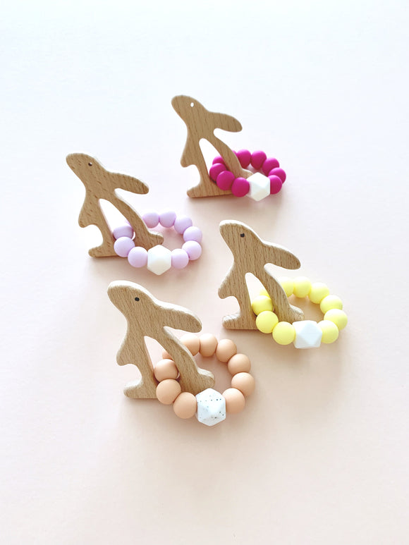 Bunny Loop Teether - WERONE