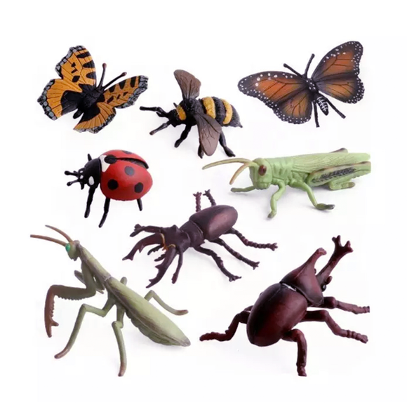 MINI FIGURINES // INSECTS