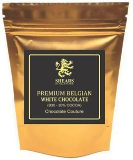 Shears 30% Belgian Premium White Chocolates - Halal - WERONE