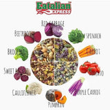 EATALIAN EXPRESS Star Shaped Mixed Vegetable Pasta (8M+)
