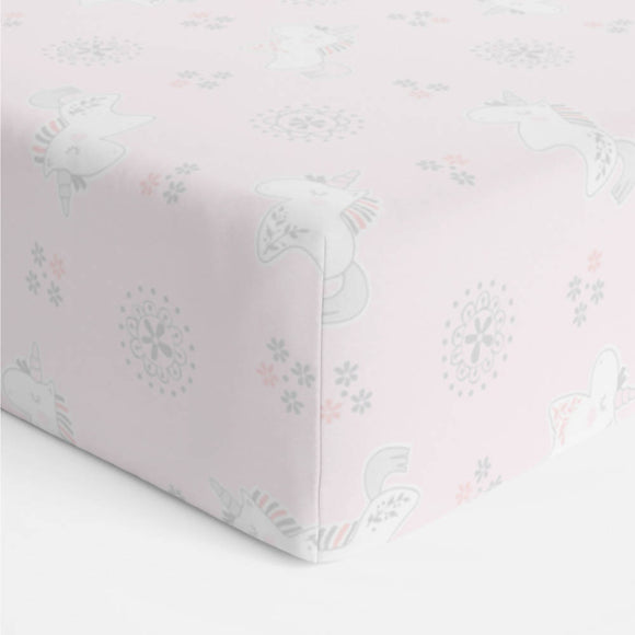 Bubba Blue Unicorn Magic Bassinet Jersey Fitted Sheet - WERONE