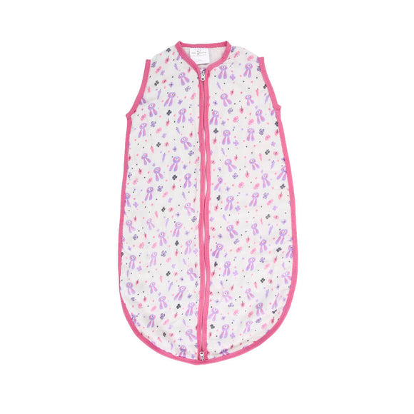 Bebe Bamboo Muslin Sleeping Bag Rabbits - WERONE