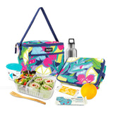PackIt Freezable Everyday Lunch Box, Fruitopia (NEW 2020) - WERONE