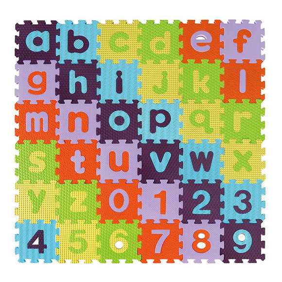 GB Puzzle Mat – Alphabet & Numbers-Lower Case - WERONE