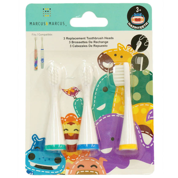 Marcus & Marcus Replacement Toothbrush Heads (Ollie, Lucas, Lola) - WERONE