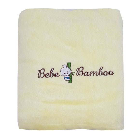 Bebe Bamboo Adult Bath Towel - Yellow - WERONE