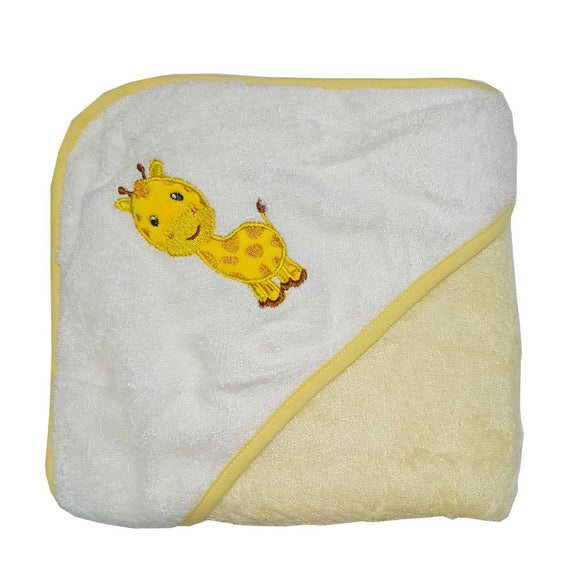 Bebe Bamboo Hooded Towel - Giraffe - WERONE
