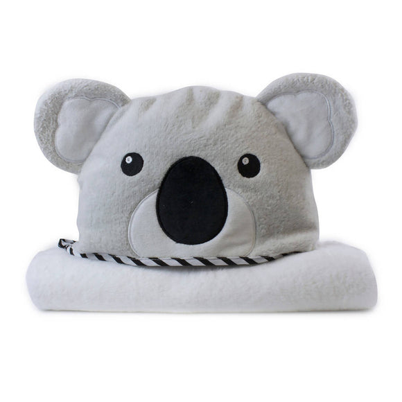 Bubba Blue Aussie Animals Novelty Hooded Bath Towel – Koala