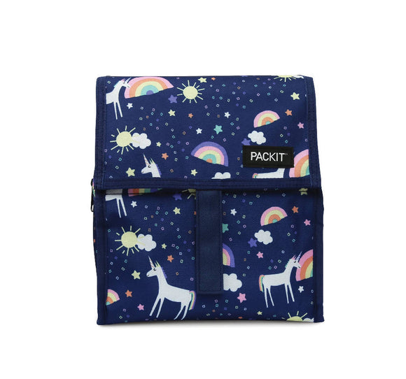 PackIt Freezable Lunch Bag, Unicorn Sky - WERONE