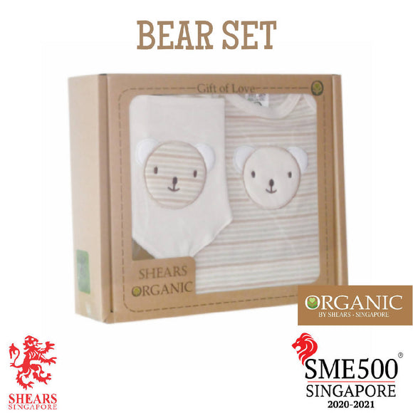 Shears Gift Set Organic 2 PCS GiftSet Bear SGO2PCB