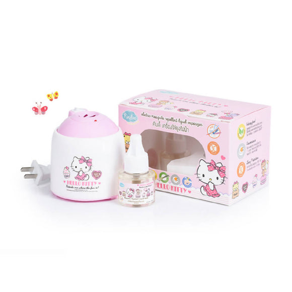 Kindee Electric Mosquito Repellent Vaporizer - Hello Kitty - WERONE