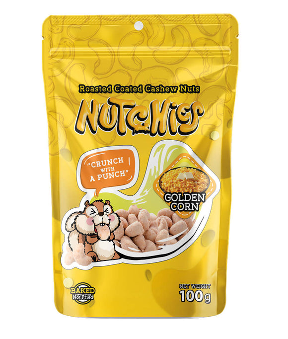 Nutchies Golden Corn 100g - WERONE