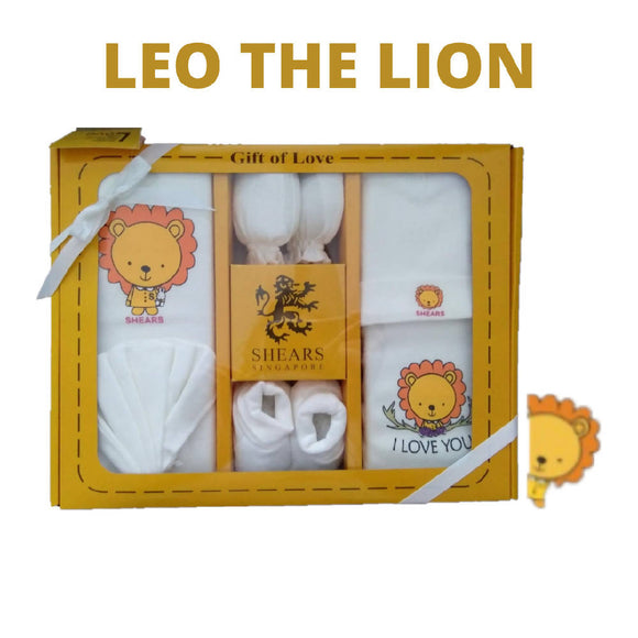 Shears Gift Set Bobblies 6 PCS Gift Set Leo the Lion SGB6Y