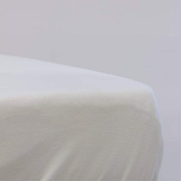 Bubba Blue MILK Jersey Cot Fitted Sheet - WERONE