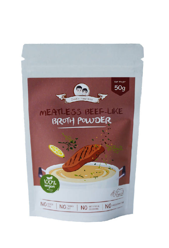 Double Happiness Meatless Beef-Like Broth Powder