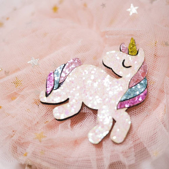 Glitter Unicorn Hair Clip - WERONE