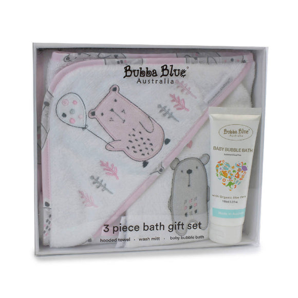 Bubba Blue Beary Sweet 3pc Bathtime Gift Set - WERONE