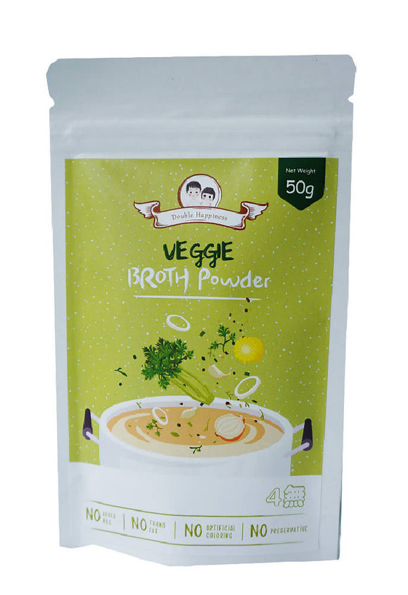 Double Happiness Veggie Broth Powder