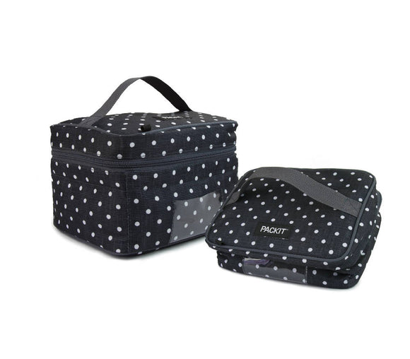 PackIt Breastmilk and Formula Handheld Cooler, Polka Dots