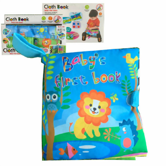 Shears Baby Educational Unfolding Cloth Book