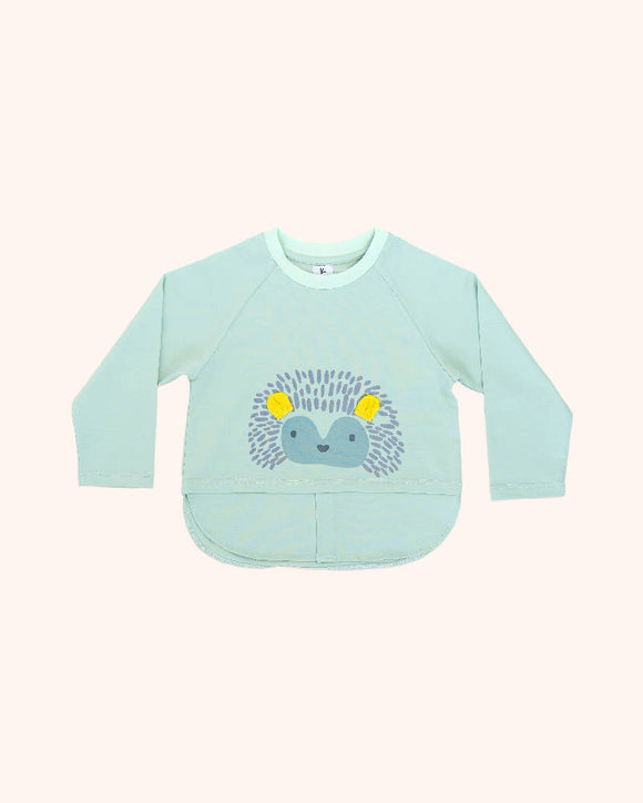 long sleeved hedgehog top