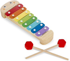 Melissa & Doug Caterpillar Xylophone Musical Toy With Wooden Mallets - WERONE