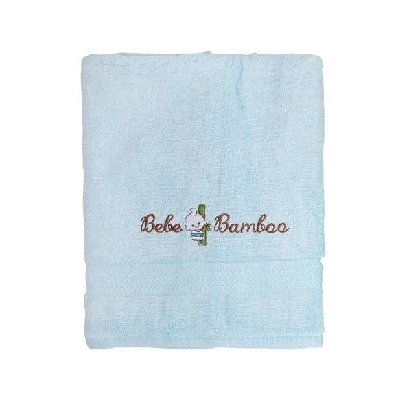 Bebe Bamboo Kids Bath Towel - Crystal Blue - WERONE