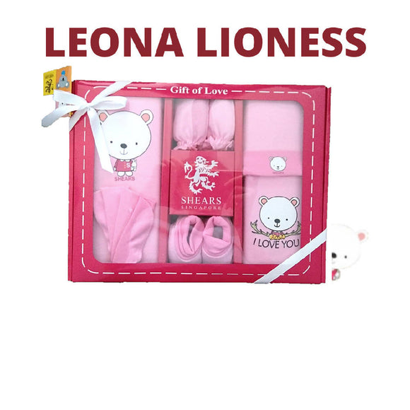 Shears Gift Set Bobblies 6 PCS Gift Set Leona the Lioness SGB6P