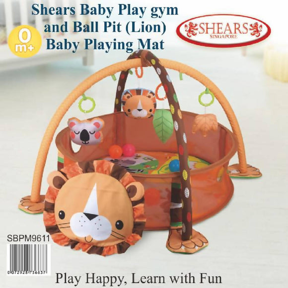 Shears 3 in 1 Lion Activity Gym & Ball Pit - WERONE