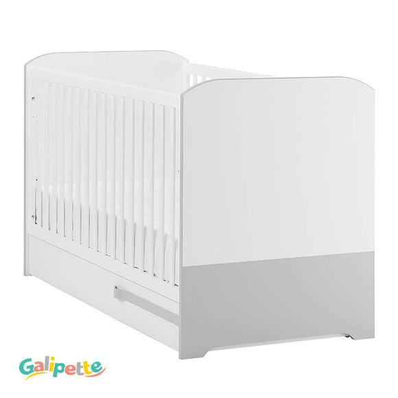 Galipette CLAPOTIS – Grey Baby's Bedroom - WERONE