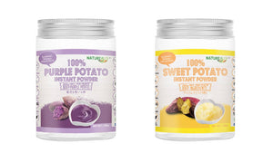 Double Goodness NATUREALLY™ Purple Potato and Sweet Potato Instant Powder (No Sugar, Salt and MSG Added) 200g - WERONE