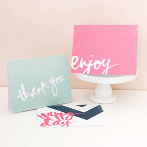 Greeting Card - A2 Size with Envelope - WERONE