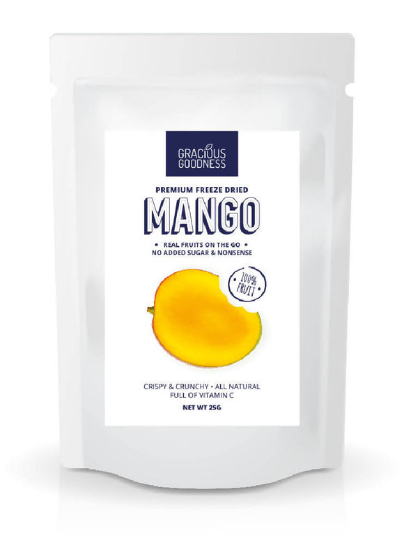 Gracious Goodness Freeze Dried Mango - WERONE
