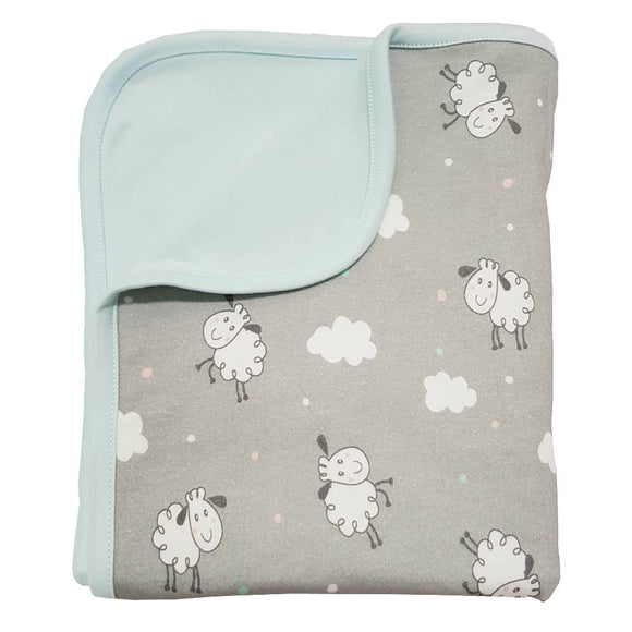 Bebe Bamboo Double Layer Blanket - Sheep - WERONE