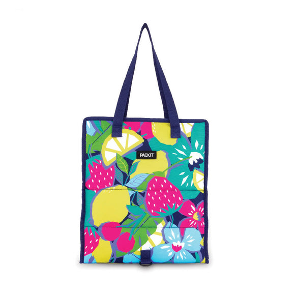PackIt Grocery Bag Tote Bag, Fruitopia (NEW 2020)
