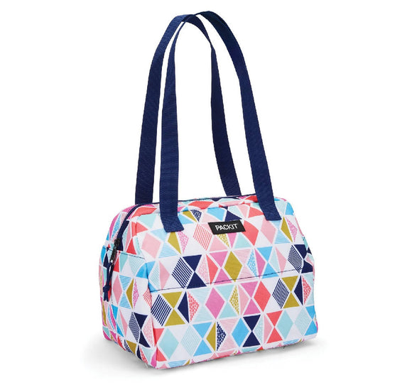 PackIt Freezable Hampton Lunch Bag, Festive Gem - WERONE